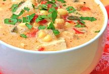 Soup Recipes / Warm yumminess for a cold day