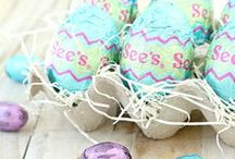 Hop Along / Easter egg how tos, brunch recipes, crafts for kids and buttercream eggs. And peanut butter eggs. And Rocky Road Eggs. Did we mention the eggs?