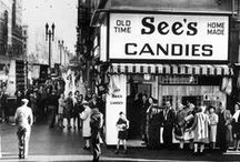 A Lifetime of See's / There's no doubt the creation of See's Candies was a historical event, but apparently some other stuff was going on in the world too. We've paired up key events for a fun look back.