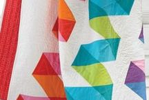 Pieced Quilting / I may be an appliqué author, but I love piecing too!