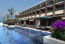 Ocean Vista Azul, Varadero / El Ocean Vista Azul es un nuevo resort cinco estrellas, situado en un acantilado con impresionantes vistas al mar y rodeado de dos paradisíacas playas de arena blanca y aguas cristalinas. El hotel cuenta con una espectacular infinity pool, amplias y luminosas habitaciones, restaurantes temáticos, el Despacio Beauty Centre y el servicio Privilege. / by H10 Hotels