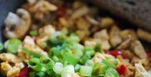 Rezeptinspiration zum veganen Wochenplan / Hier findet ihr beispielhafte Gerichte aus meinem veganen Wochenplan zum Abnehmen