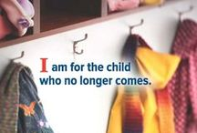 V O L U N T E E R WITH US / Lift up a Child's voice. Lift up a Child's Life. Be the Difference: Volunteer!