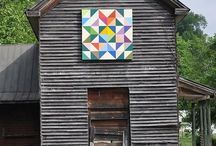 Barns old and New & Barn Quilts   / Barns around the USA / by Susan Ison