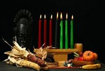 Happy Kwanzaa / Kwanzaa, a unique and sacred seven day festival celebrating African American culture, history. Kwanzaa begins on December 26 and continues until January 1.