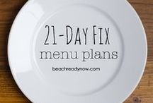 21 Day Fix Meal/Snack Ideas
