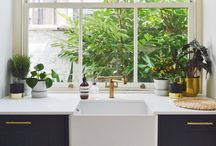 Kitchen Inspiration / A collection of kitchens I loved and used as inspiration for our own kitchen renovation.