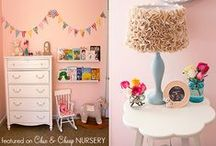 Girl Nurseries and Toddler Rooms / by Nicole (ChicCheapNursery.com)