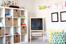 ikea in the nursery / by Nicole (ChicCheapNursery.com)