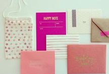 paper goods and packaging / by Heidi Boor
