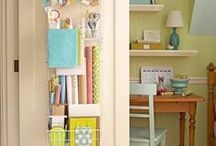 Home Organization / Organize home spaces with tips and ideas. Clear up clutter and put things in place!