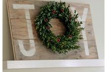 Christmas Trimmings / Christmas and Holiday decor and ideas to add joy and glad tidings to the season.