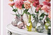 Bud Vases | Fresh Cuts / by Luna Bazaar