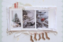 Christmas One page Layouts / by Tonia Bates