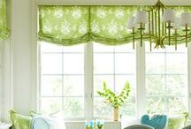 Window Treatment Ideas / Window treatment ideas for bathrooms, bedroom, or just about any room in the house.