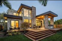Architecture . Home Design / by Audrey Macy