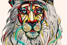 Leo (with a twist) / I'm a Leo on the cusp of Virgo (8/22). An interesting, blended force of nature!  / by Audrey Macy