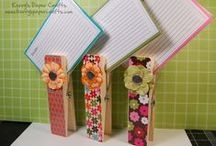 Handmade Gifts / Quick and easy handmade gifts to make and give. Many of these are easy paper project ideas that could also be sold at craft fairs!