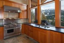 Peak View Chalet / Located in prestigious Blueberry Hills, this luxury 4 bedroom, 5 bathroom chalet features panoramic vistas of both Whistler and Blackcomb mountains.