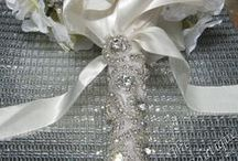 Beautiful #DIY Bridal Trims / add sparkle with trims from The Buckle Boutique