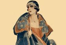 Vintage Fashionistas~ / Vintage Fashionistas, vintage beauties wearing gorgeous clothes