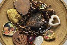 Heart of My Heart Jewelry~ / The Best Heart Jewelry on Pinterest #valentinevewelry #heartjewelry