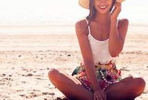 Look playero-Beach cloth / Vamos a la playa, calienta el sol...