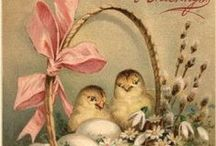 Easter~ / Easter food, fun, vintage images and decor