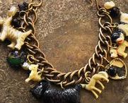 Charmed Menagerie~ / Vintage and Vintage Assemblage Boho Chic Jewelry