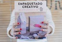 Libro Empaquetado Creativo / Más de 30 tutoriales de empaquetado creativo en tus manos. Con paso a paso sencillos y resultones. ¡Ya a la venta!