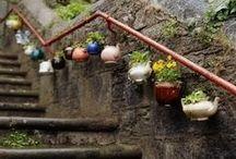 Yard Art / Ideas for yard art to decorate my yard and garden