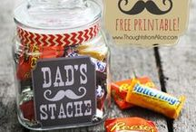 Father's Day Gift Ideas / Handmade gift ideas for dad's and grandpa's on Father's Day