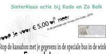 Sinterklaas actie bij Kado en Zo Balk / Maak kans op een cadeaubon ter waarde € 25,00. http://kadoenzo.wixsite.com/kadoenzobalk