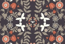PRINT / WORK/ SURFACE DESIGN / MODERN ROMANTIC / by DesignSquish
