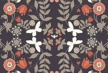 PRINT / WORK/ SURFACE DESIGN / MODERN ROMANTIC / by DesignSquish