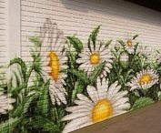 MURALS / Painting on a wall or an area of a room will change its entire personality and feeling to others.