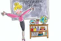 Klas: inrichting / Ideetjes voor inrichting/aankleding in de klas
