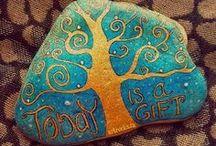 Rock Art - Painted / Hand painted rocks