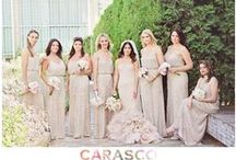 Bride & Bridesmaids / Bride and Bridesmaid Portraits | All images by Carasco Photography | http://www.carascophoto.com/weddings | http://www.carascophoto.com