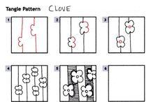 Zentangle Instruction / #Zentangle / by Faith Cohen
