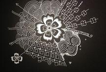 Zentangle Inspiration  / by Faith Cohen