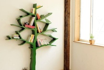 Bookshelves / by Joy
