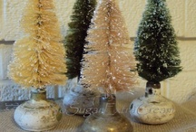 Bottle Brush Christmas Trees / by Kathy - South of Main
