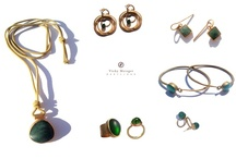 COLOR IN JEWELRY / GREENS