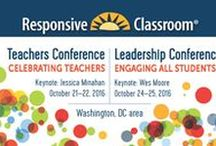 Responsive Classroom Conferences / Highlights from our annual national conferences for school leaders and educators.