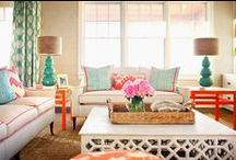 Get the Look: Palm Beach / Playful - Tropical - Preppy -  Hollywood Regency Style in a sea of citrusy colors. / by Two's Company