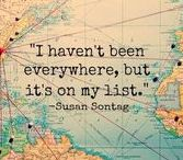 TRAVEL BUG / Simplify and enjoy what our beautiful country has to offer.  Enjoy the people, the places, and what they represent.