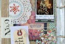 Scrapbooking - December Daily / Scrapbooking inspiration for December Daily books #Christmas #holiday #papercrafting