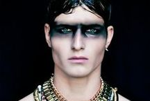 STYLE: Blade Runner / Sporting a black eye.