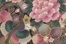 "Asian Floral Fabrics / Asian inspired florals are some of the most uniquely beautiful and intricately designed fabrics we offer.  All fabrics here are 44"" wide, 100% cotton.  / by Hancock's of Paducah"